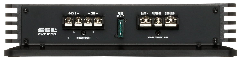 SSL EV2.2000 Evolution 2000W 2 Channel MOSFET Amplifier with Remote Subwoofer Level Control