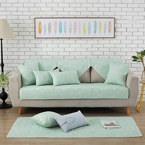 KISlink Fundas de sofá seccionales, cojín de sofá de algodón ...