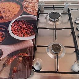 Wenko Juego cubre vitros de Cocina Universal Especias ...