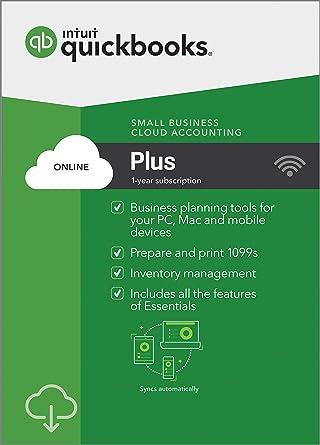Amazon. Com: quickbooks online mac 2019, 1 year subscription.