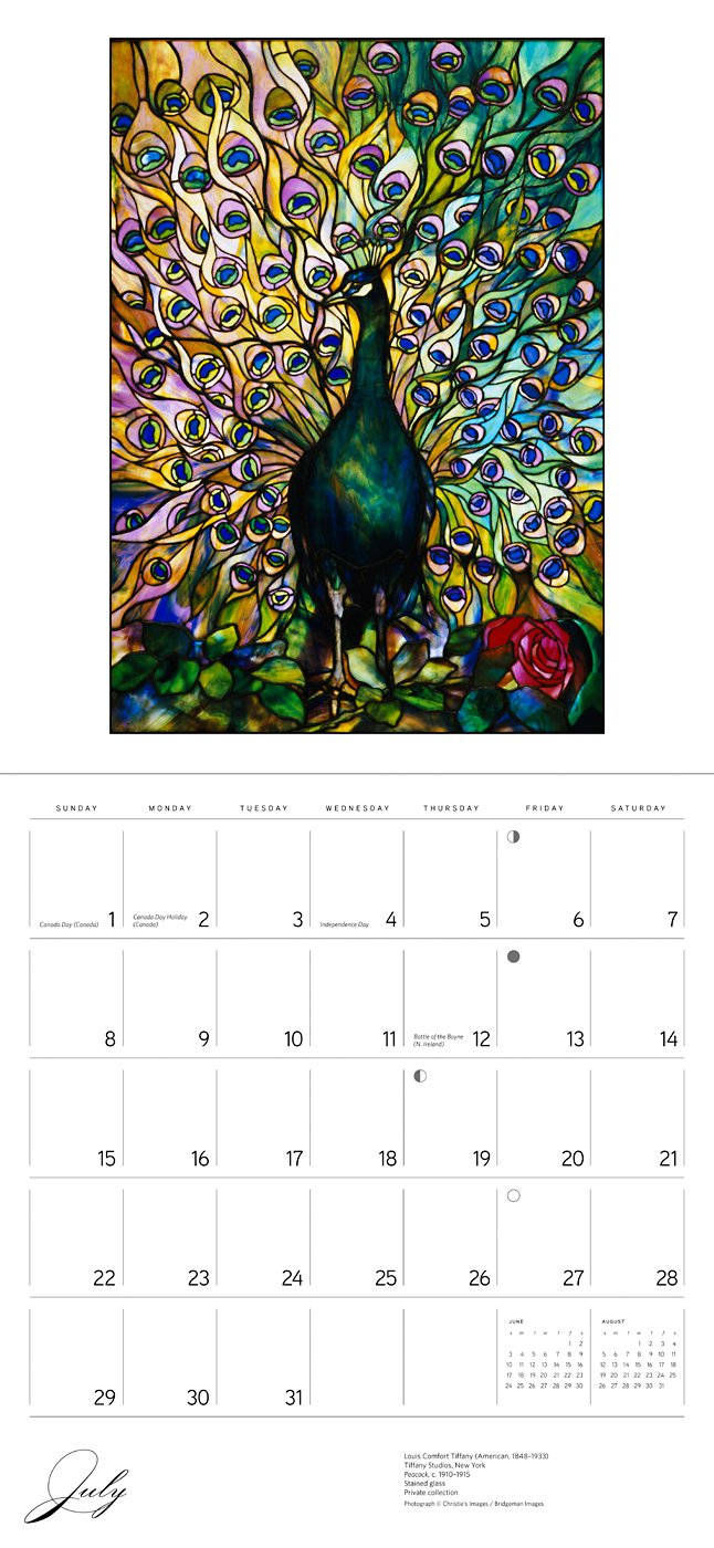 Tiffany 2018 Wall Calendar: Louis Comfort Tiffany: 9780764976957:  Amazon.com: Books
