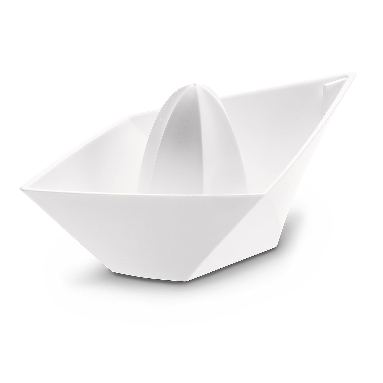 Koziol, exprimidor minimalista estilo barco de papel
