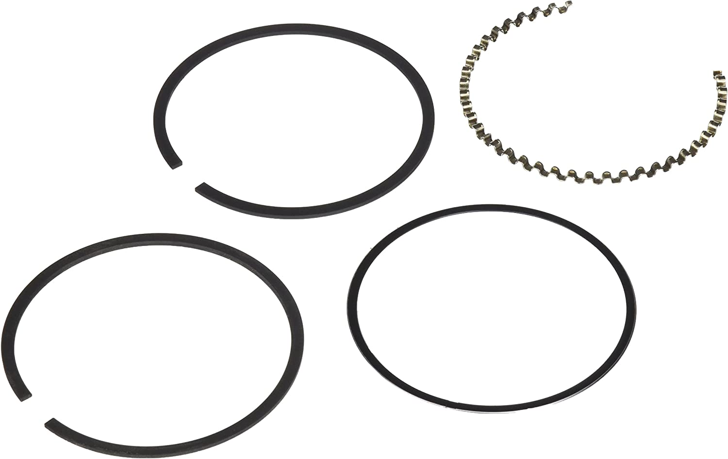 Hastings 675S040 Single Cylinder Piston Ring Set