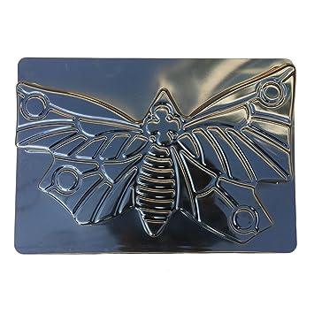 OUNONA DIY Mariposa Molde para Hacer Caminos manualmente moldes de hormigón moldes para Escalar Piedra para Hacer Carretera (Negro): Amazon.es: Jardín