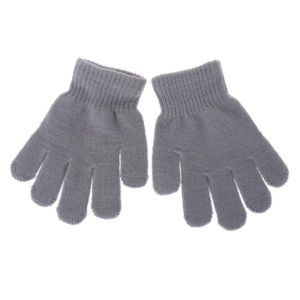 LIMARIO Kids Winter Warm Magic Gloves Children Stretchy Warm Knit Glovers
