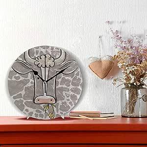 Reloj Pared Decorativo Pequeño Vaca Creativa Animal