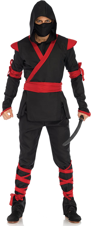 Leg Avenue Men's Ninja Halloween Costume