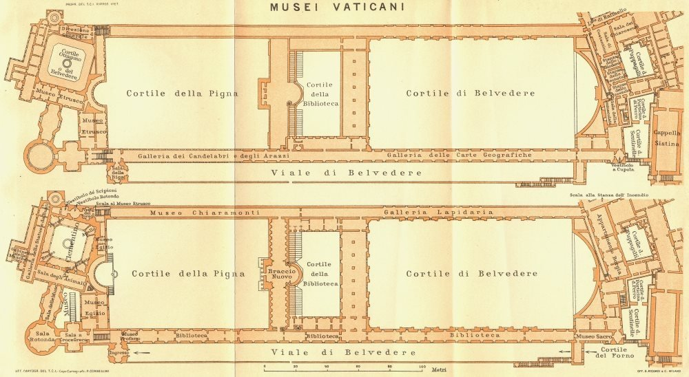 Amazon.com: ROME. Musei Vaticani - 1925 - old map - antique ... on old map fl, old medieval europe map, 19th century rome, old world map, old waikiki hotels, old maps of kentucky, old map italy, imperial fora rome, old riviera hotel las vegas, medieval rome, old mesopotamia map, old rome restaurants, old map wallpaper, greece and rome, old map with compass, old hotel rome, republican rome, ancient rome, old map template, old map georgia,