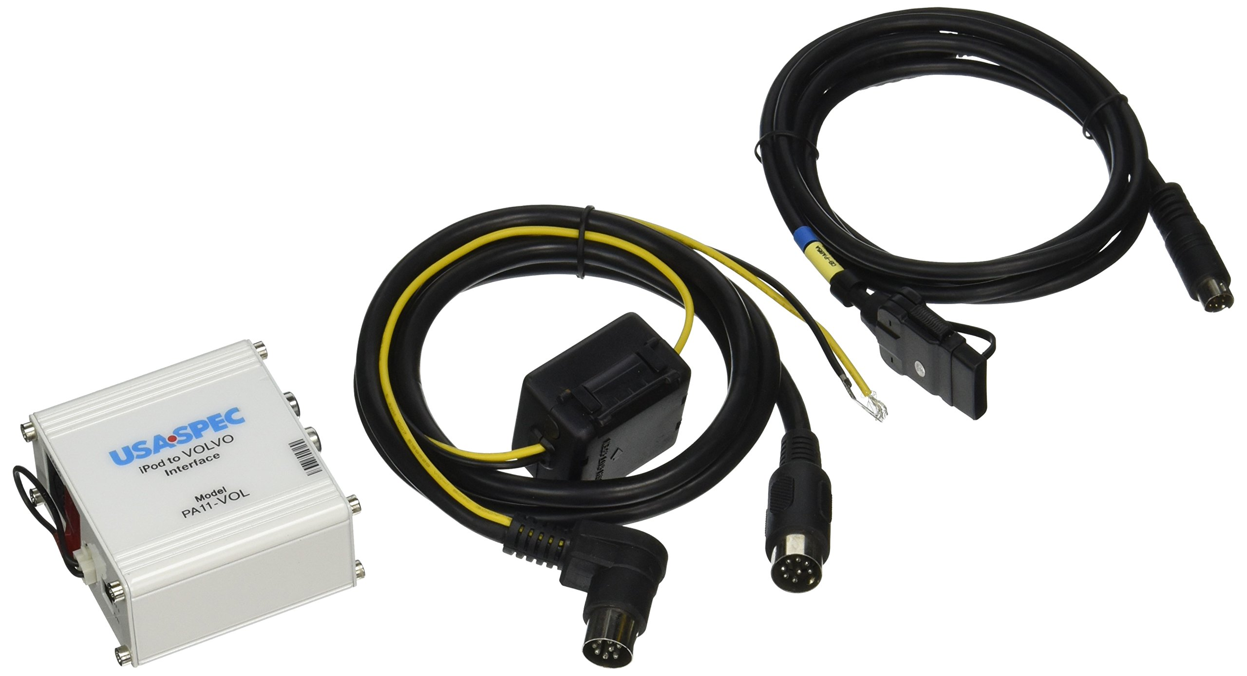 USA SPEC (PA11-VOL) iPod to Factory Radio Wired Music Interface with AUX (RCA) Port for 01-17 VOLVO (HU- series radios)