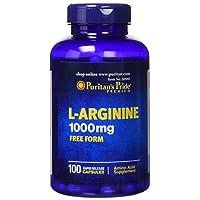 Puritans Pride L-arginine 1000 Mg Capsules, 100 Count