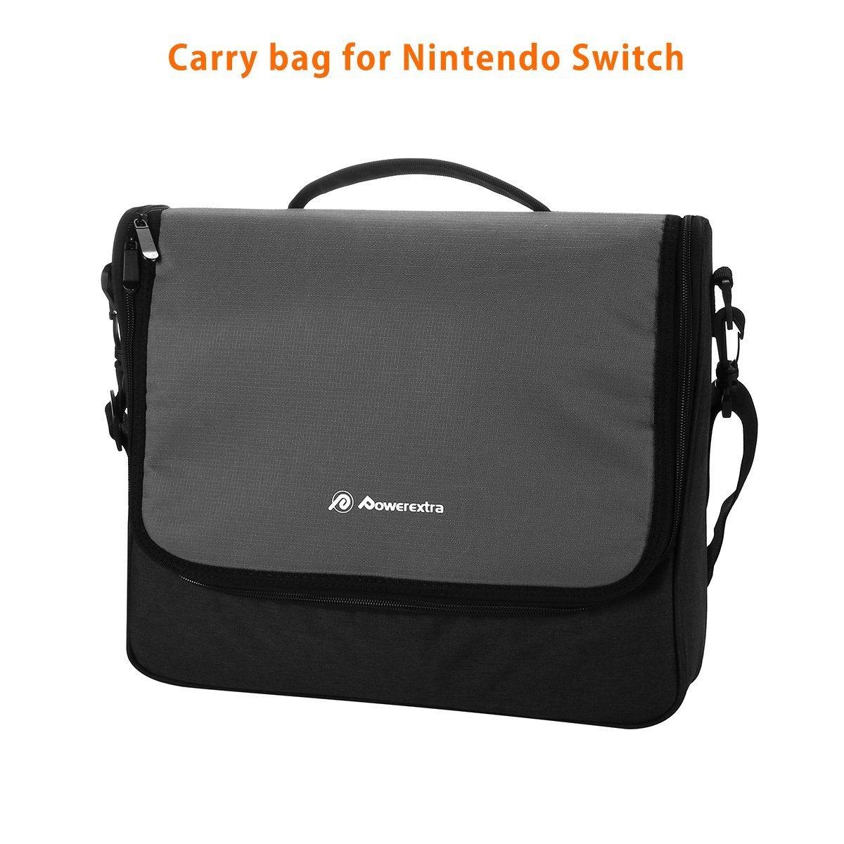 Powerextra Nintendo Bolsa de Almacenamiento de Conmutador para Nintendo Switch y Accesorios