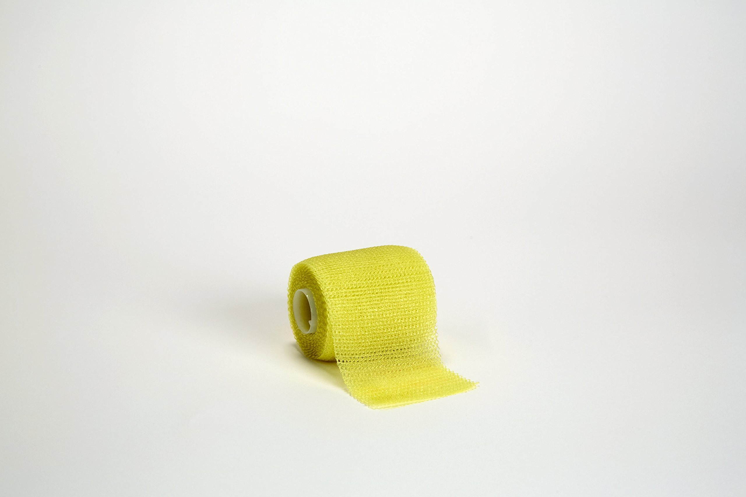 3M Scotchcast 82002Y Plus Casting Tape, Yellow 2'' x 4 Yard (Pack of 10)