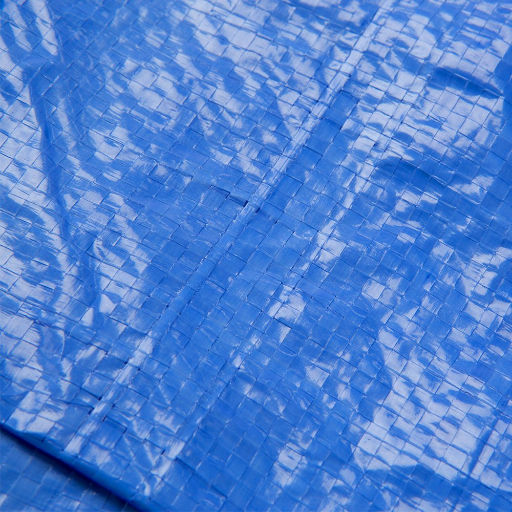 B-Air GTRP912 Grizzly Tarps 9 x 12 Feet Blue Multi Purpose Waterproof Poly Tarp Cover 5 Mil Thick 8 x 8 Weave by B-Air (Image #9)