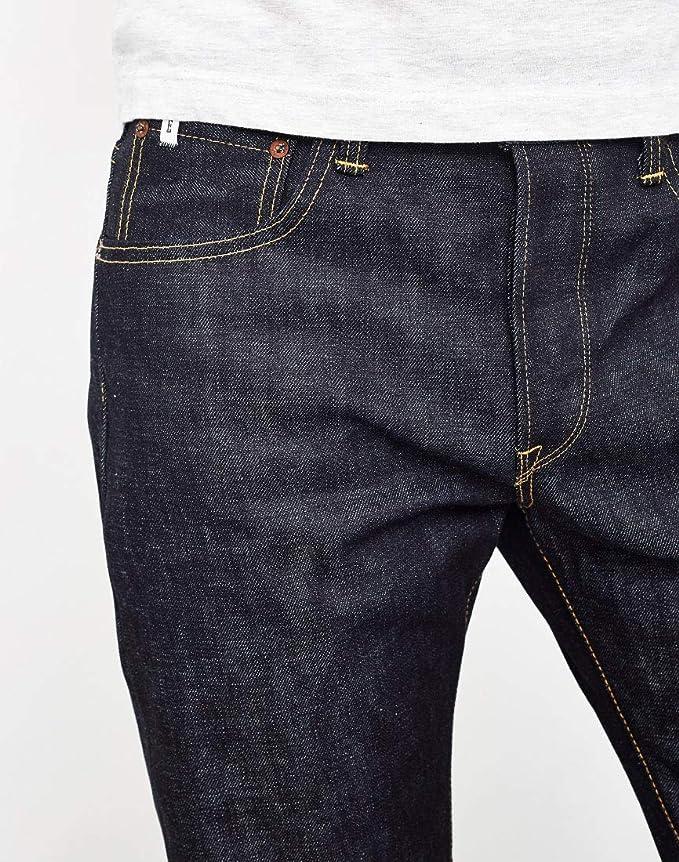 650d03fb Edwin Classic Regular Taper Jeans Japan Rainbow Selvedge Raw State Raw  W36L32: Amazon.co.uk: Clothing