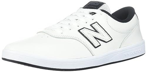 Nouvelles Chaussures Équilibre 424-cuir Blanc (eu 40,5 / 7,5 Nous, Blanc)