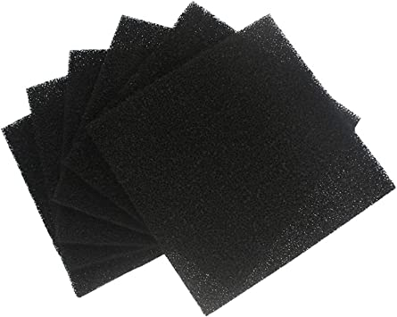 Details about  /Activated Carbon Filter Sponge For Solder Smoke Absorber Fume Extractor 10pcs