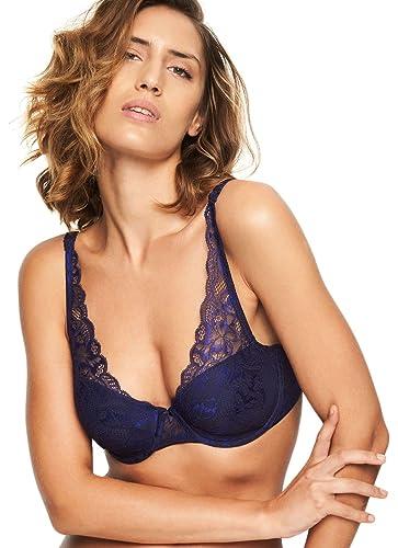 778b2f92de781 Chantelle Women s Molitor Lace Convertible Plunge Bra at Amazon Women s  Clothing store