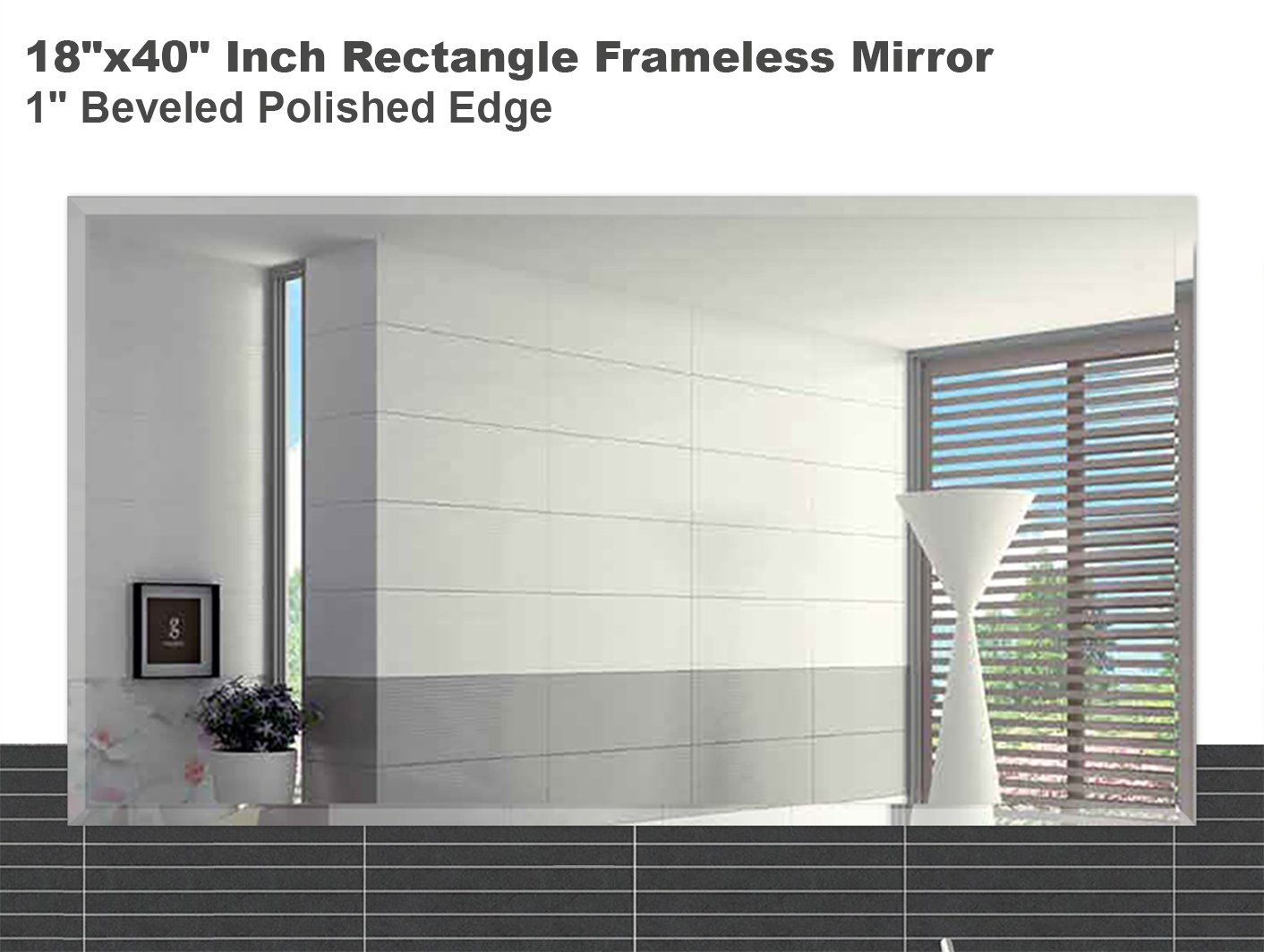 Amazon.com: Fab Glass and Mirror 18\