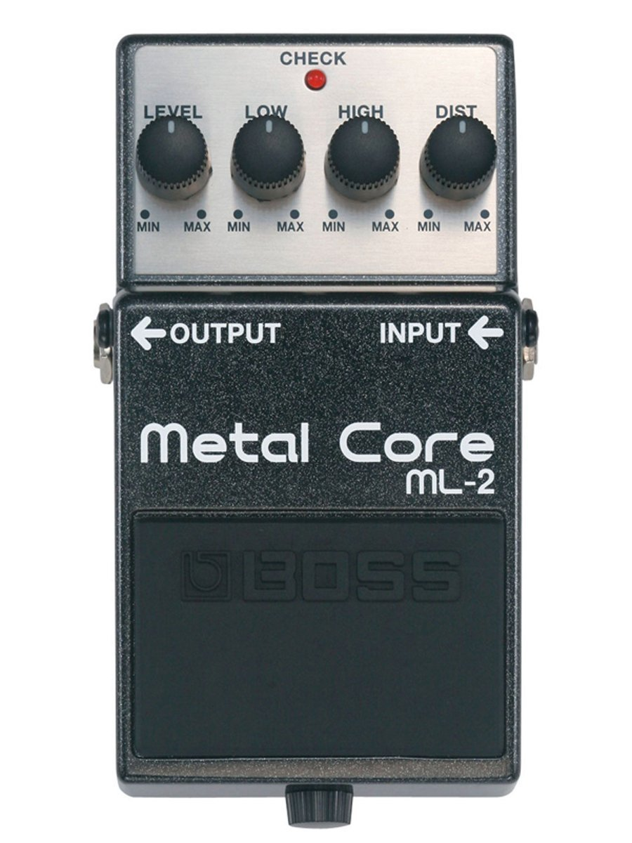 Boss ML-2 Metal Core Distortion Pedal by BOSS