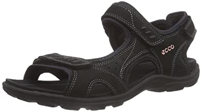 ECCO Women's Kana Sport Sandal, Black, ...