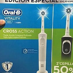 Pack dental promocional DUO VITALITY CROSS ACTION ORAL B: Amazon.es: Salud y cuidado personal