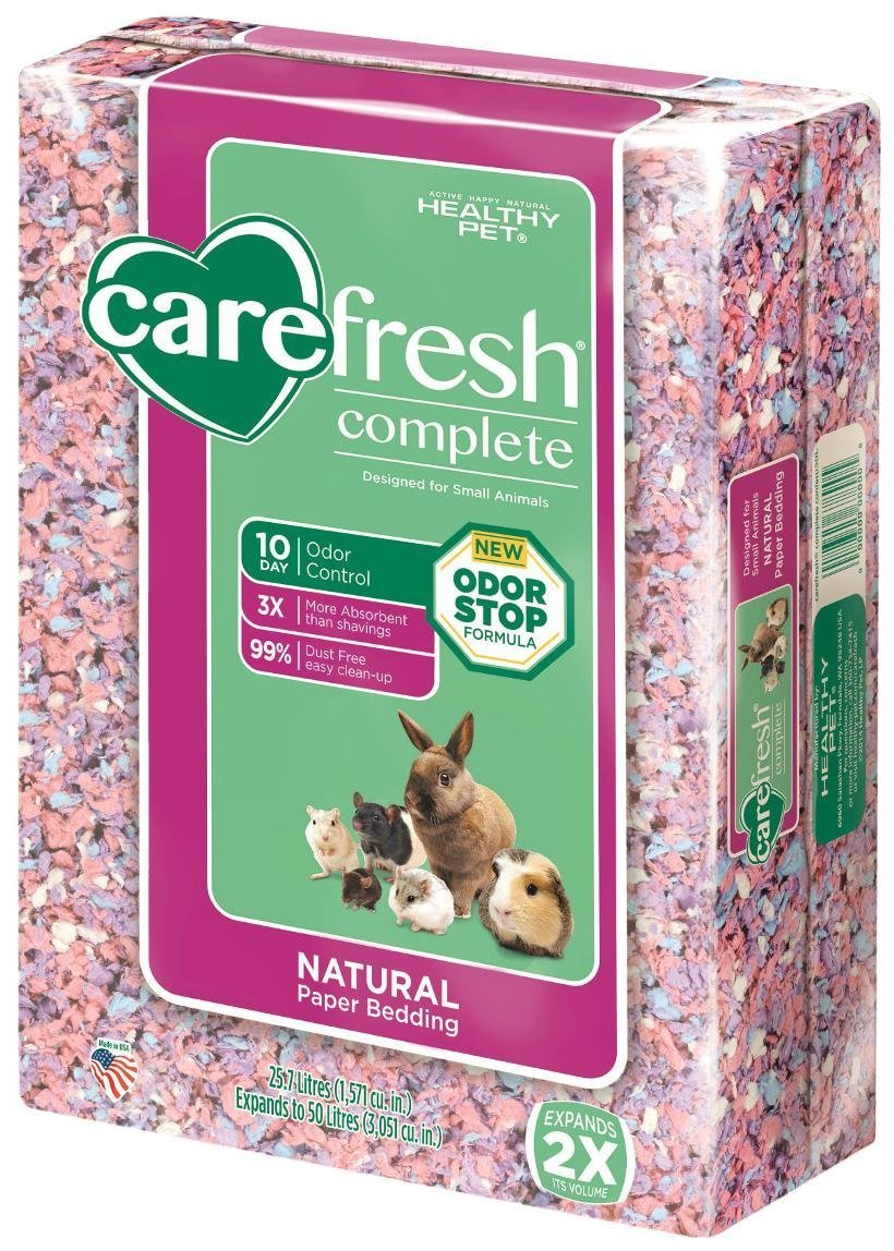 Carefresh Complete Natural Paper Bedding - Confetti - 50 lt