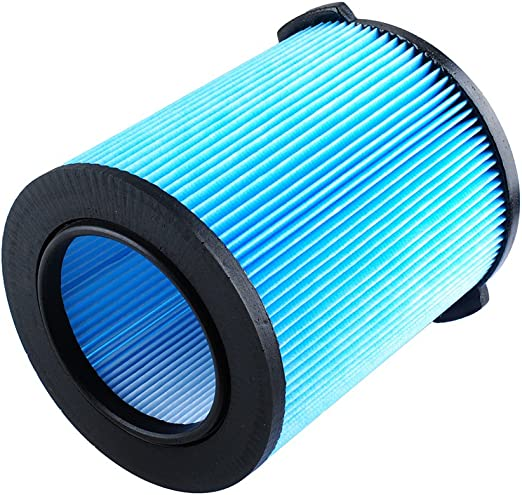 VF3500 Filter- 3-Layer Pleated Paper Vacuum Filter Compatible with Ridgid Wet//Dry 3-4.5 Gallon Portable Vacuums WD3050 WD4522 WD4070 4500RV 4000RV WD4080