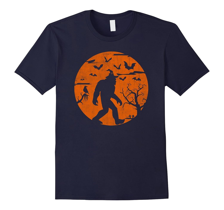 Bigfoot Halloween Shirt Human Costume Sasquatch Yeti Gift-Art