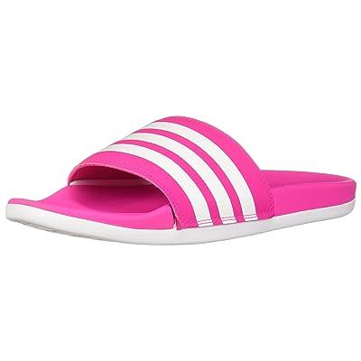 Amazon.com | adidas Women's Adilette Cloudfoam+ Slide Sandal | Sport Sandals & Slides