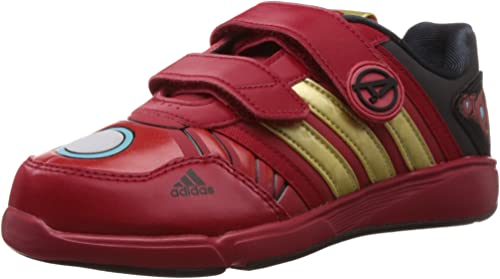 adidas Boys' Trainers red red red Size