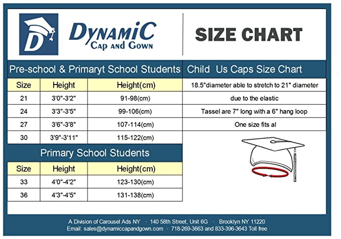 Amazon Com Cap And Gown Direct Shiny Preschool And Kindergarten