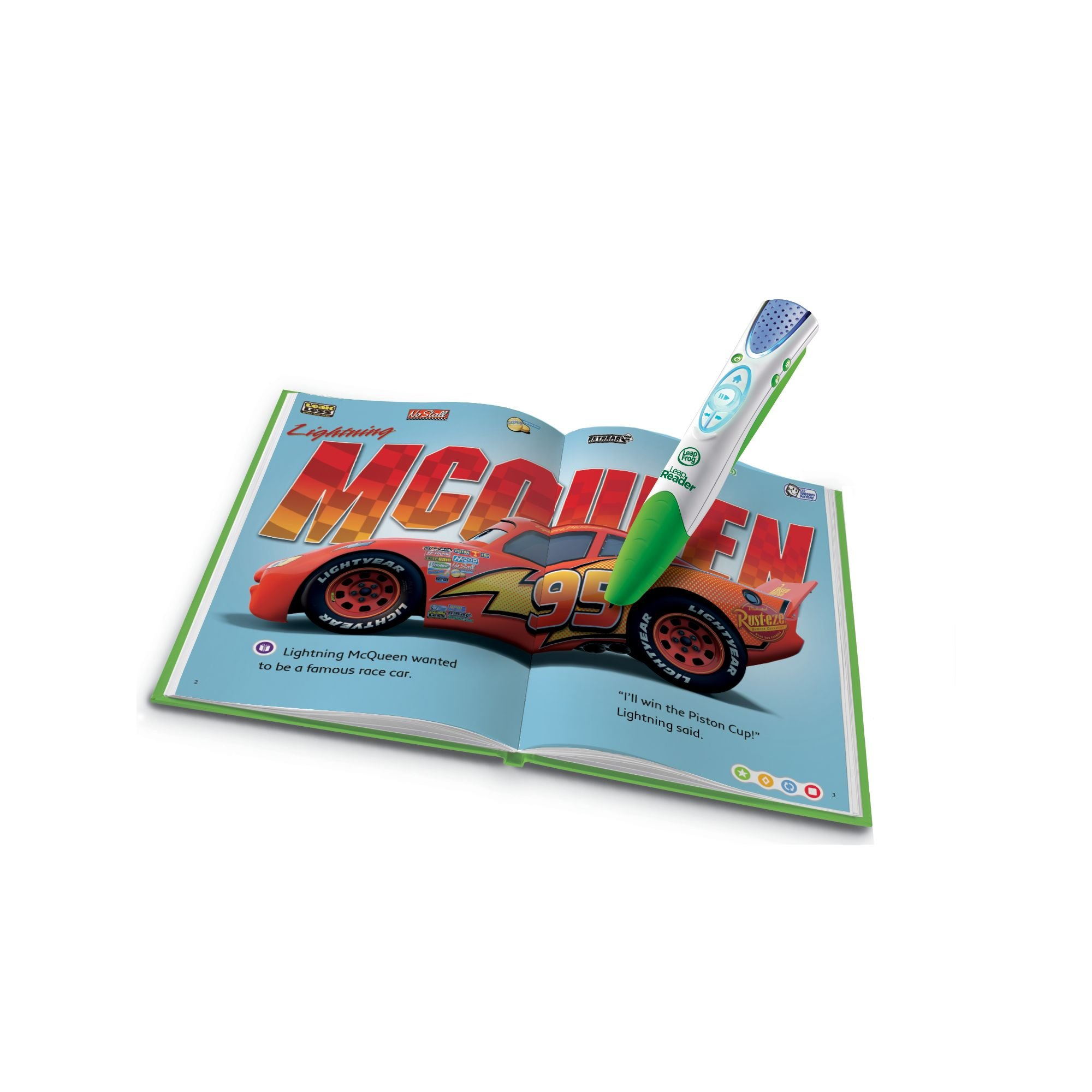 LeapFrog LeapReader Book: Disney·Pixar Cars: Racing Adventures (works with Tag) by LeapFrog (Image #2)