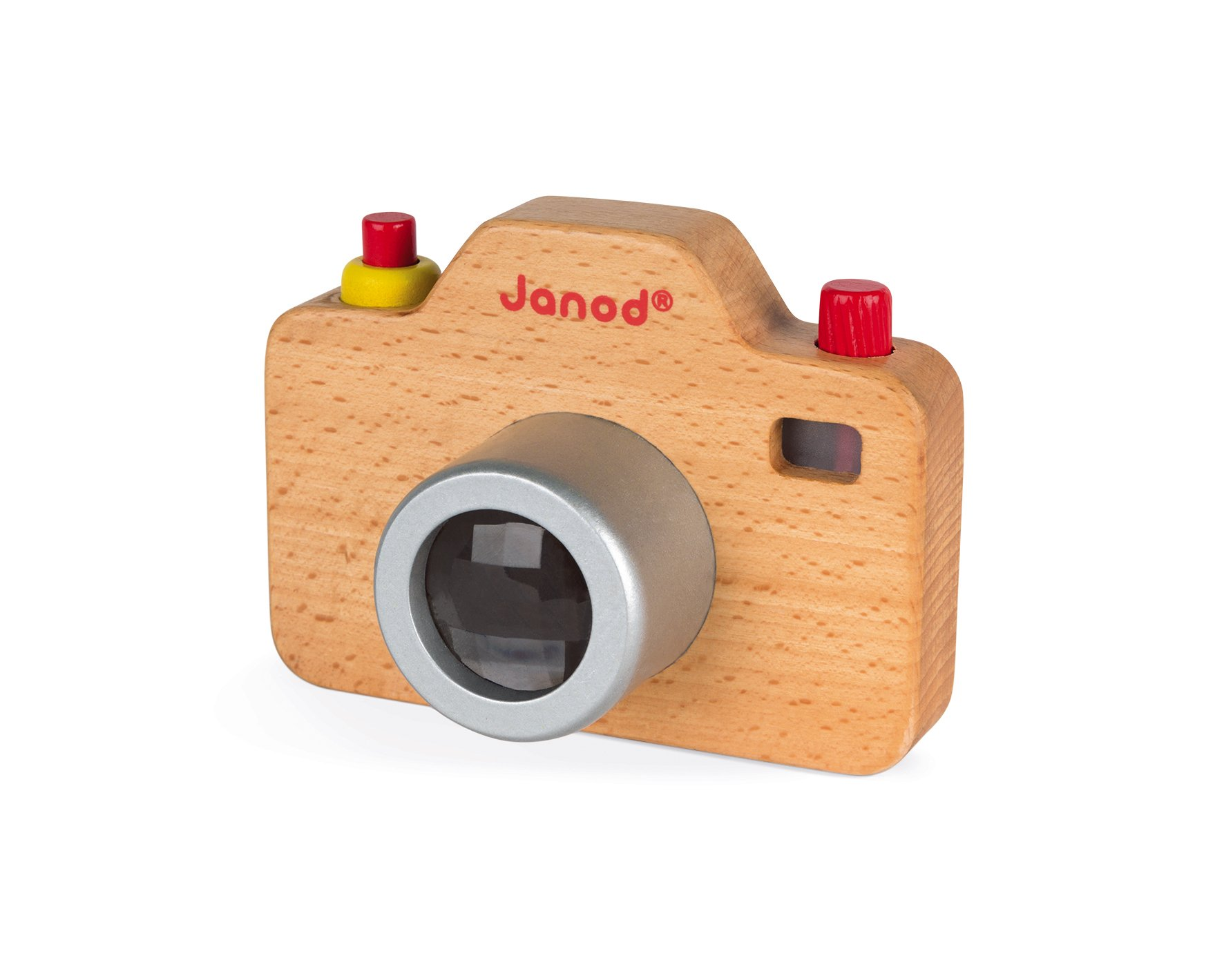 Janod Wooden Interactive Sound Camera Toy by Janod (Image #10)