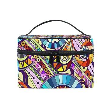 d8e2aee7090e Amazon.com : Cosmetic Bags Vintage Marble Mexican Ceramic Tile ...