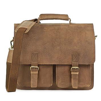 489067121eef5 Große Aktentasche Lehrertasche Größe L aus Büffel-Leder