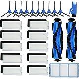 JoyBros 24 piezas de repuesto accesorios para Eufy RoboVac 11S 12 30C 15T 15C 35C Primario/Filtros Laterales, Escobillas Roda