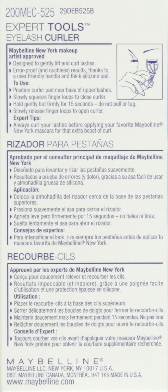 Maybelline New York Expert Tools, Eyelash Curler : Beauty