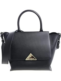 Emporio Armani sac fourre-tout croc noir gaufré Black Leather ... 1fca9fb124f1