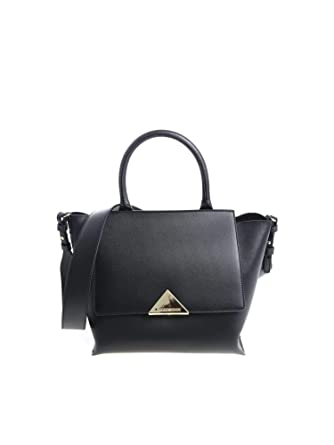 96e0a1434d000 Emporio Armani Womens Peggy TOP Handle Bag Schwarz Umhängetaschen  Einheitsgrösse  Amazon.de  Schuhe   Handtaschen