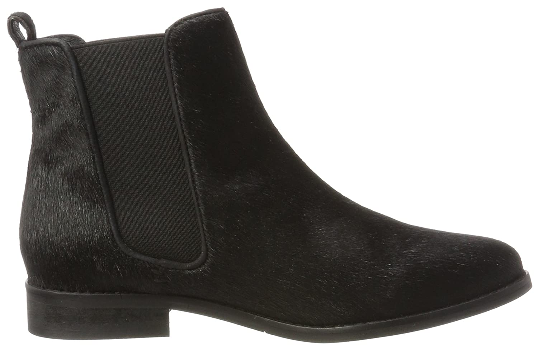 Maruti Damen Passoa Hairon Leather Chelsea Boots, Mehrfarbig (Frog White Black), 36 EU
