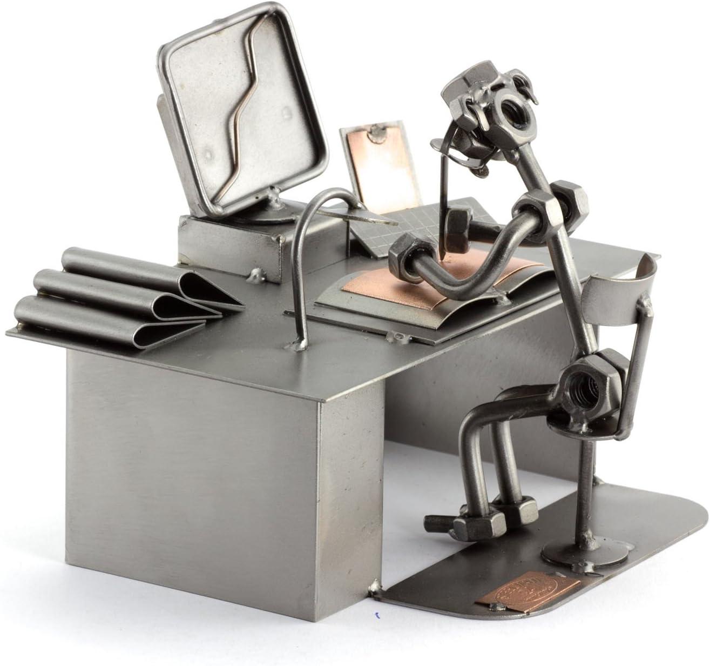 Steelman24 I Ordenador Pc I Made in Germany I Idea para Regalo I Figura de metalo