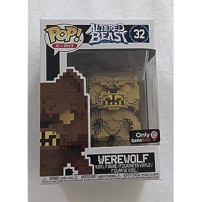Funko Pop 8 Bit: Altered Beasts-Greek Warrior (Gold Werewolf) Collectible Figure, Multicolor: Toys & Games