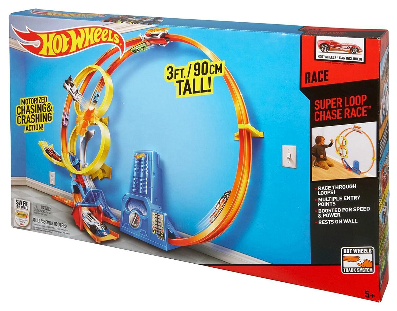 Hot Wheels Pista Megalooping (Mattel BGJ55): Amazon.es: Juguetes y juegos