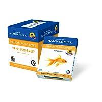 Hammermill Paper, Premium Multi-Purpose Poly Wrap, 24 lb, 8.5 x 11, Letter,  97 Bright, 2500 Sheets / 5 Ream Case (105810C) Made In The USA