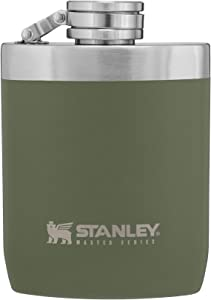 Insulated Flask with Never-Lose Leak Proof Cap for Camping or Daily Use