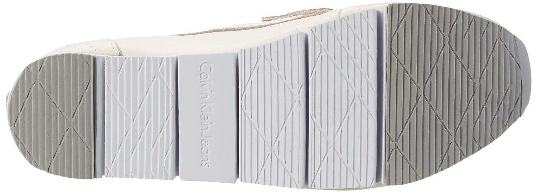 Calvin Klein Calf Jeans Damen Sonora Pebble Calf Klein Slipper Weiß (Ofw) fe7bb6