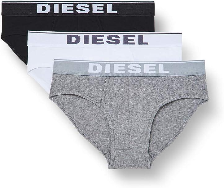 TALLA XS. Diesel UMBR-ANDRETHREEPACK, Calzoncillo para Hombre, Pack de 3