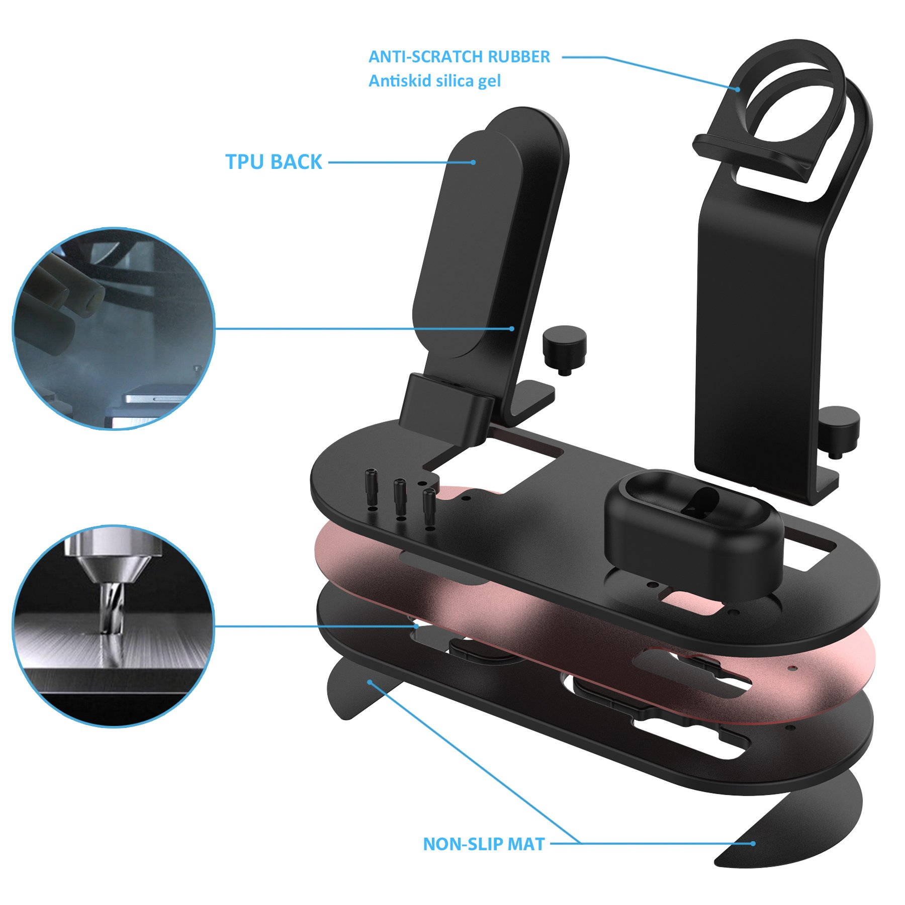 Galleon Olebr Charging Stand Charging Docks Suitable For