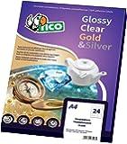 Tico GL4-3620 Etichette Satinate, 36 x 20, Dorato
