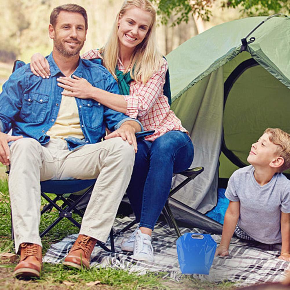 Deposito-Garrafa plegable 3 litros.Ideal para camping,acampadas,playa,senderismo